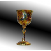 Kiddush Cup- Upcycled Pressed Metal