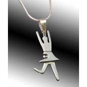 Shabbat Pendant-Female