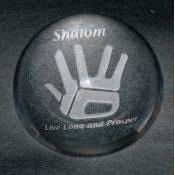 Shalom Paperweight